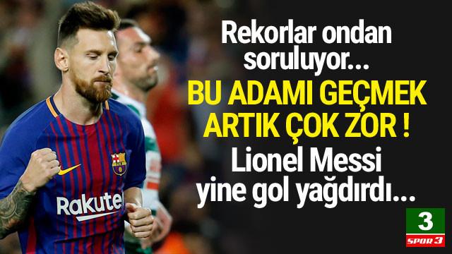Lionel Messi'yi tutmak imkansız ! Tam bir makine...