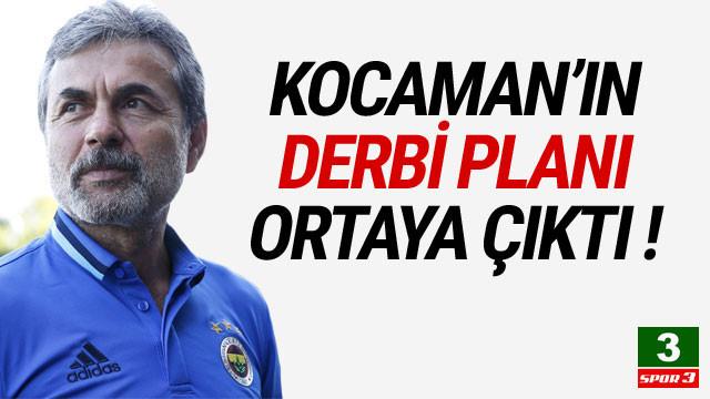 İşte Aykut Kocaman'ın Beşiktaş derbisi planı