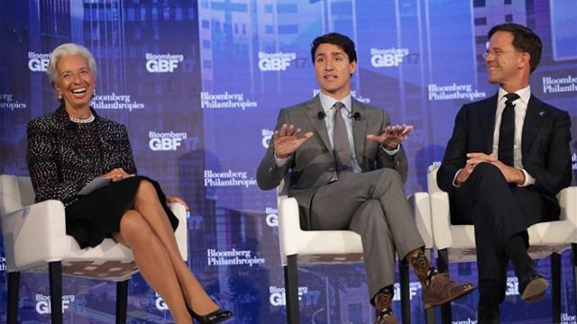 Kanada Başbakanı Trudeau'nun renkli çorapları