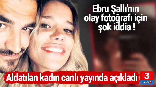 Ebru Şallı'nın evli sevgilisinin eşinden olay sözler