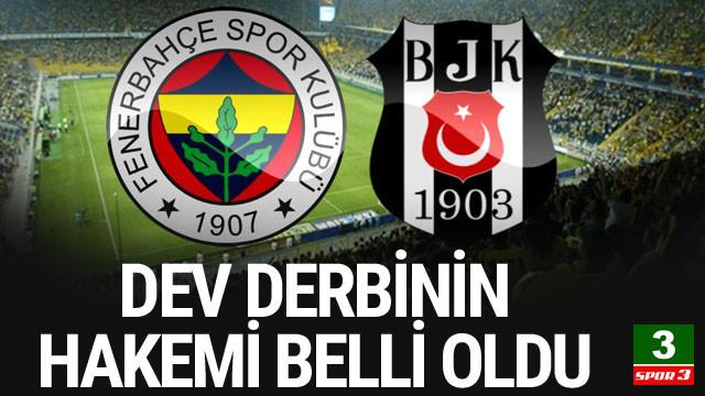 İşte Fenerbahçe - Beşiktaş derbisinin hakemi