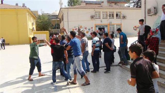 Okulda Suriyeli gerginliği !
