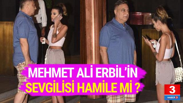 Mehmet Ali Erbil'in sevgilisi hamile mi ?
