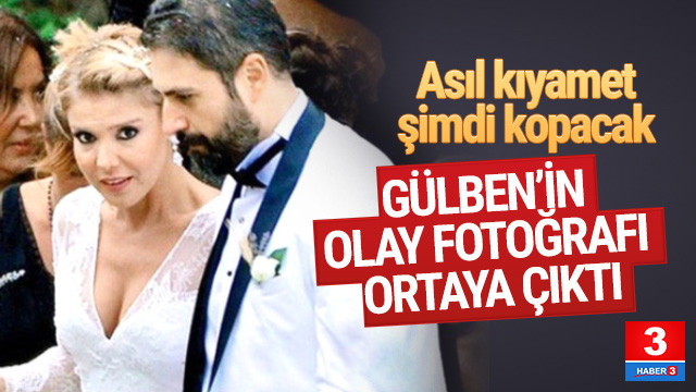 Gülben Ergen'i zora sokacak fotoğraf ortaya çıktı