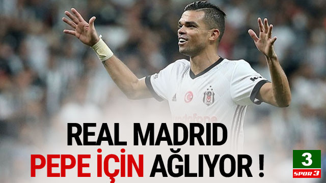 Real Madrid, Pepe için ağlıyor