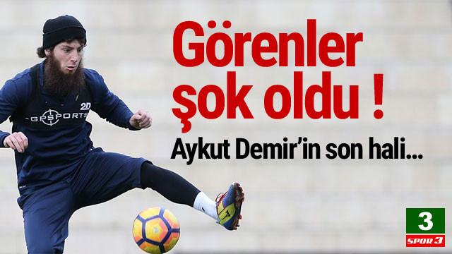 Görenler şok oldu ! Aykut Demir'in son hali…