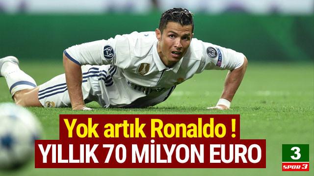 Ronaldo'ya yıllık 70 milyon Euro'luk teklif