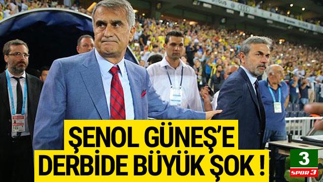 Şenol Güneş'e Kadıköy'de büyük şok !