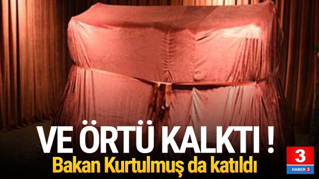 Herakles Lahdi, Antalya'da ziyarete açıldı