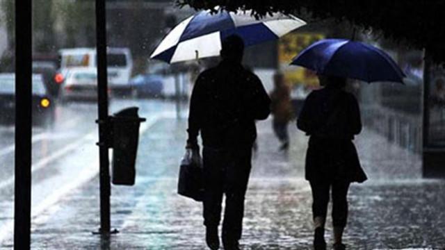 Şemsiyeleri hazırlayın ! Yağmur geliyor...