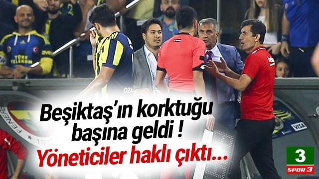 Beşiktaş'ın korkuğu başına geldi