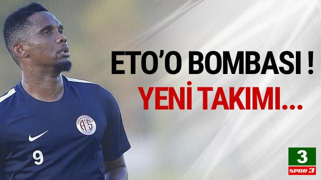 Göztepe'den Eto'o bombası