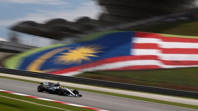 Malezya'da ilk sıra Hamilton'ın