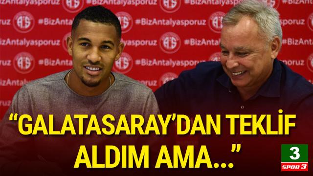 William Vainqueur'den Galatasaray itirafı