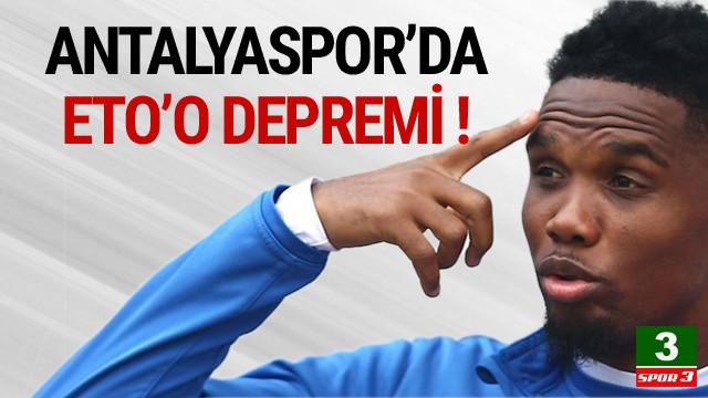 Antalyaspor'da şok !