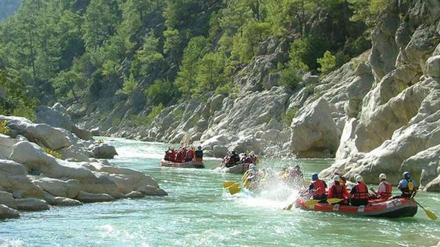 Dalaman'da rafting endişesi