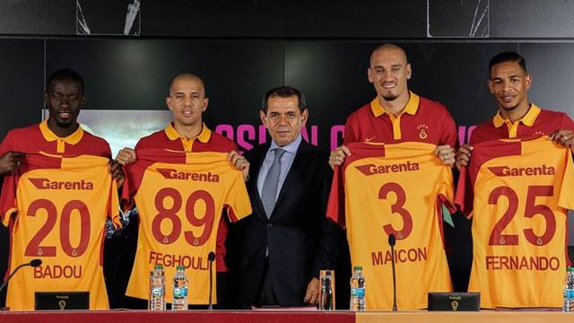 Galatasaray'ın bütün transferleri yabancı