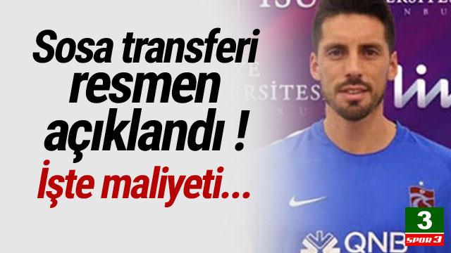 Jose Sosa transferi resmen açıklandı