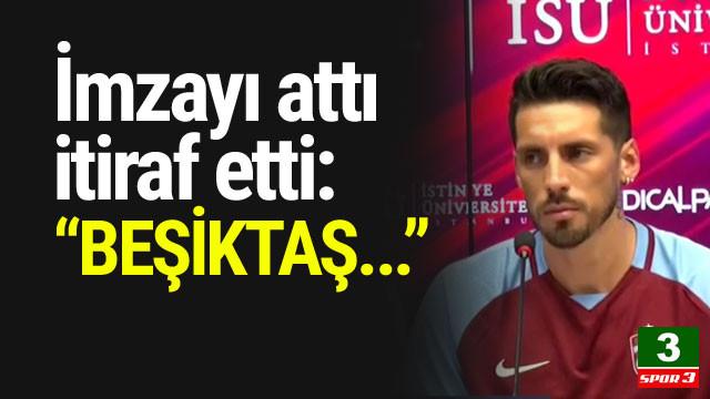 Sosa imzayı attı itiraf etti: ''Beşiktaş...''