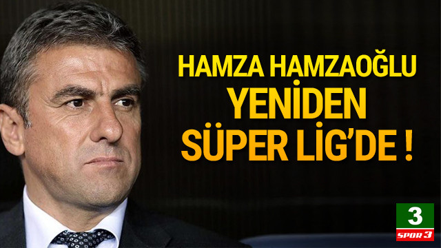 Hamza Hamzaoğlu Antalyaspor'da !