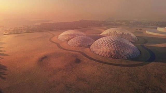 Mars yüzeyinde buzul tabakası bulundu