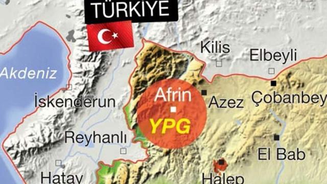 TSK Afrin kuşatması için hazır !