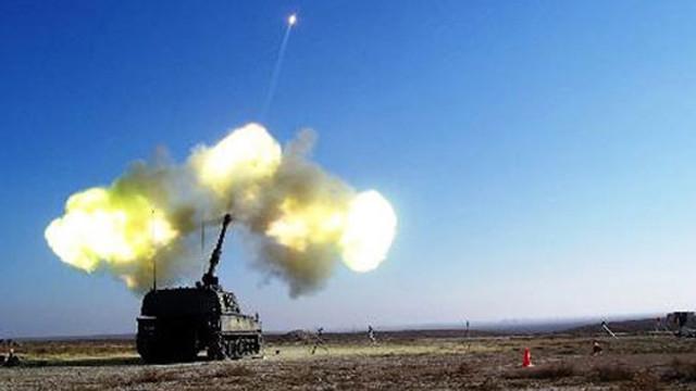 TSK Afrin'deki PYD mevzilerini vurmaya başladı !