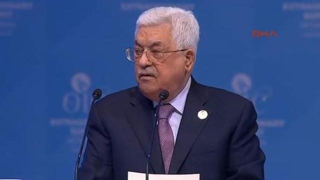 Abbas: ''Trump'ın planı yüzyılın tokadı oldu''