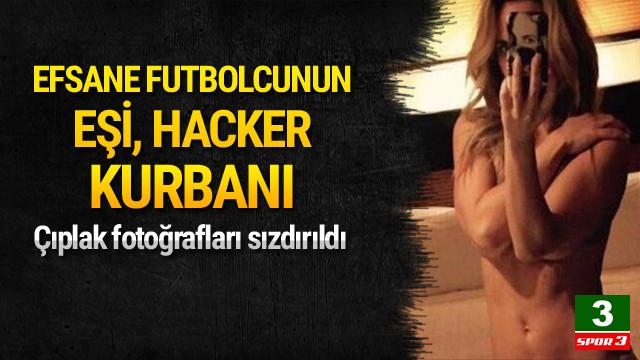 Luis Garcia'nın eşine hacker şoku !