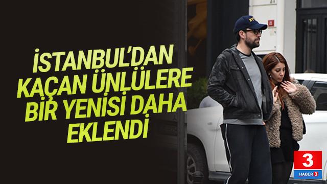 Çağlar Ertuğrul da İstanbul'u terk etti