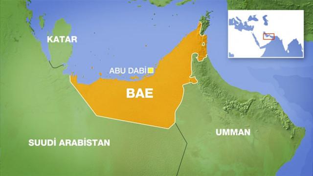 Birleşik Arap Emirlikleri, Katar'ı haritadan sildi