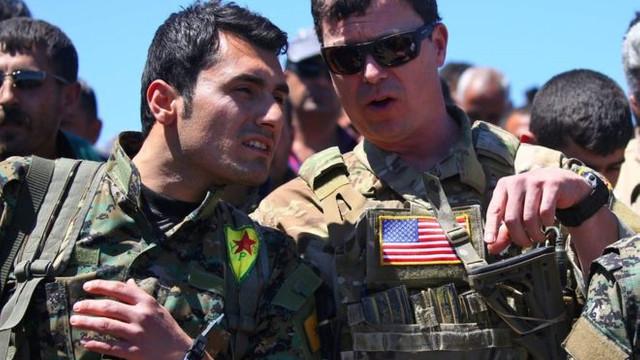 ABD yine YPG'ye sahip çıktı ! Bir açıklama daha...