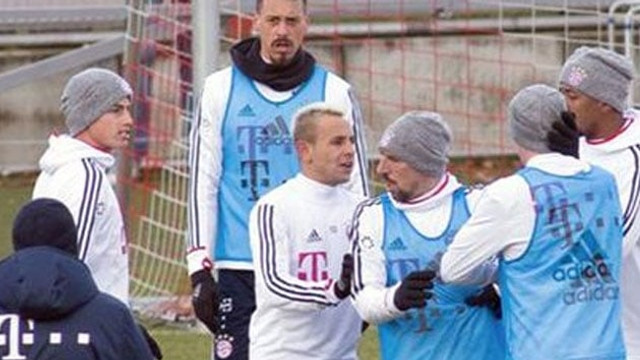 Bayern Münih'te James Rodriguez ile Rudy birbirine girdi