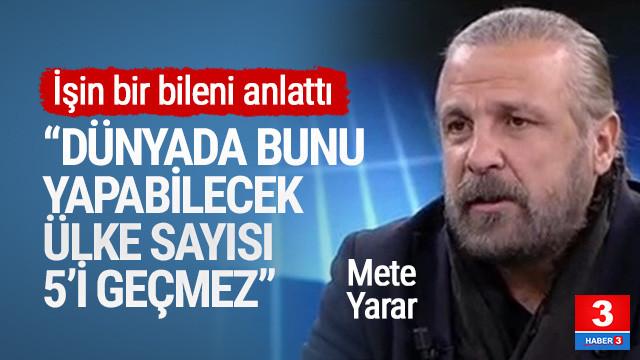Mete Yarar Afrin harekatını değerlendirdi