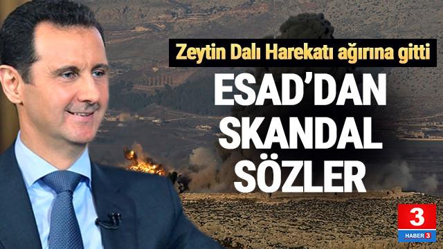 Beşar Esad'dan Afrin harekatı için skandal açıklama