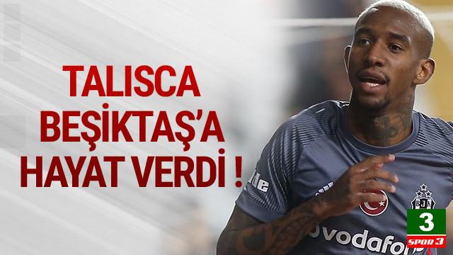 Beşiktaş Antalya'da geriden geldi !
