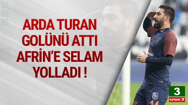 Arda Turan'dan asker selamı !
