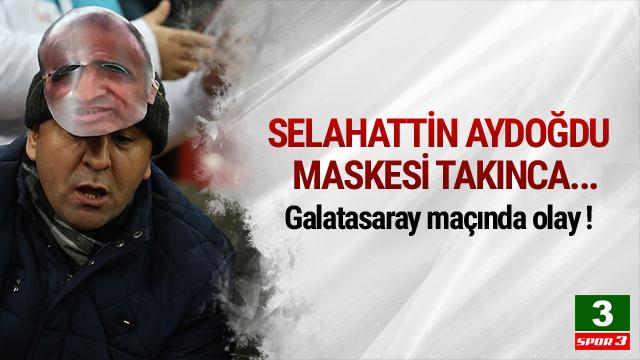 Selahattin Aydoğdu maskesine polis müdahalesi