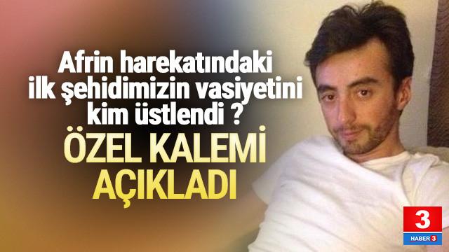 Devlet Bahçeli ''Zeytin Dalı'' şehidinin vasiyetini üstlendi
