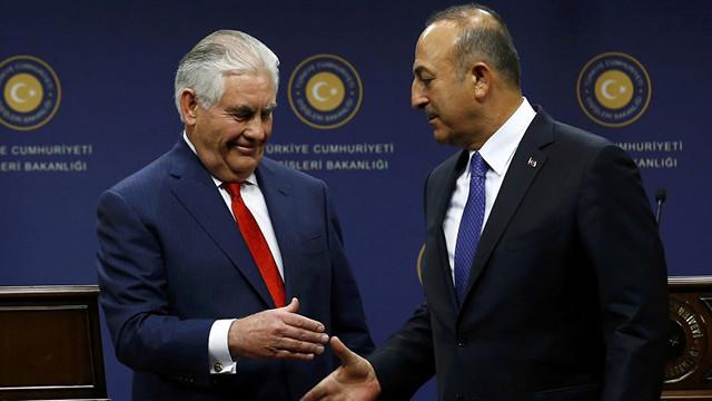 Dışişleri Bakanı Çavuşoğlu'ndan kritik ABD görüşmesi