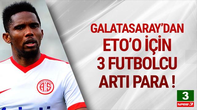 Galatasaray'dan Eto'o teklifi !