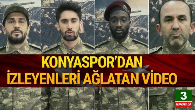 Konyaspor'dan duygulandıran video