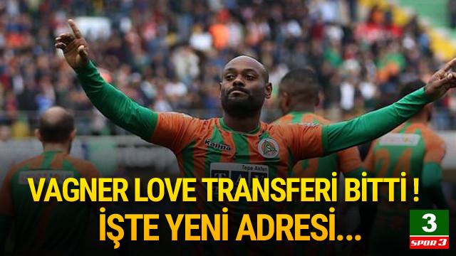 Vagner Love Beşiktaş'ta !