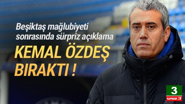 Kasımpaşa'da teknik direktör Kemal Özdeş depremi