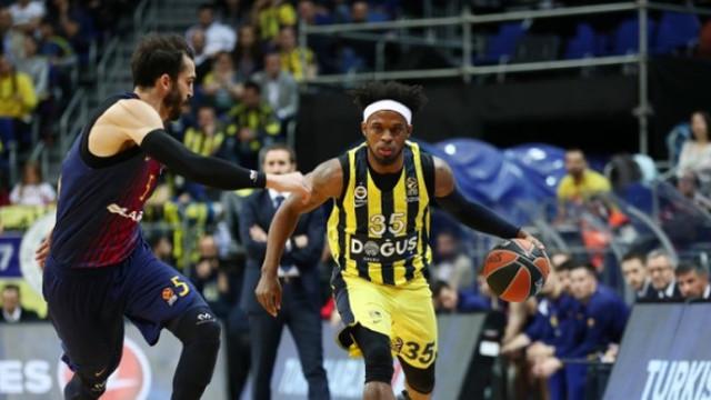 Fenerbahçe Doğuş, Barcelona'yı devirdi