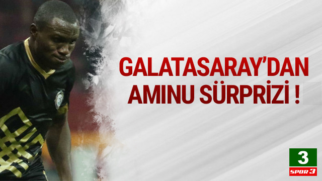 Galatasaray'dan Aminu bombası !