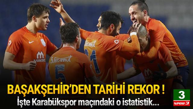 Başakşehir pas rekoru kırdı !