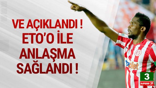 Samuel Eto'o Konyaspor'da !