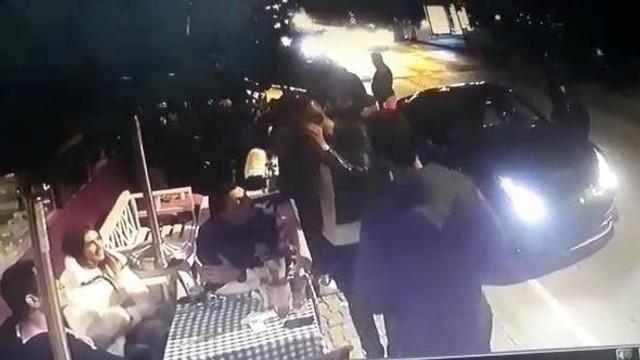 Burak Yılmaz'ın kaza yaptığı geceden yeni görüntüler çıktı
