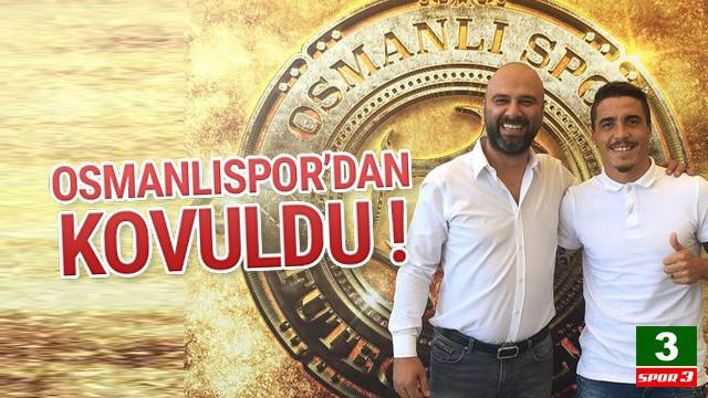 Osmanlıspor'da Josue kovuldu